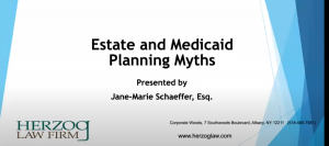 estate and medicaid planning myths
