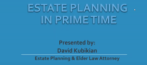 estate planning in prime time