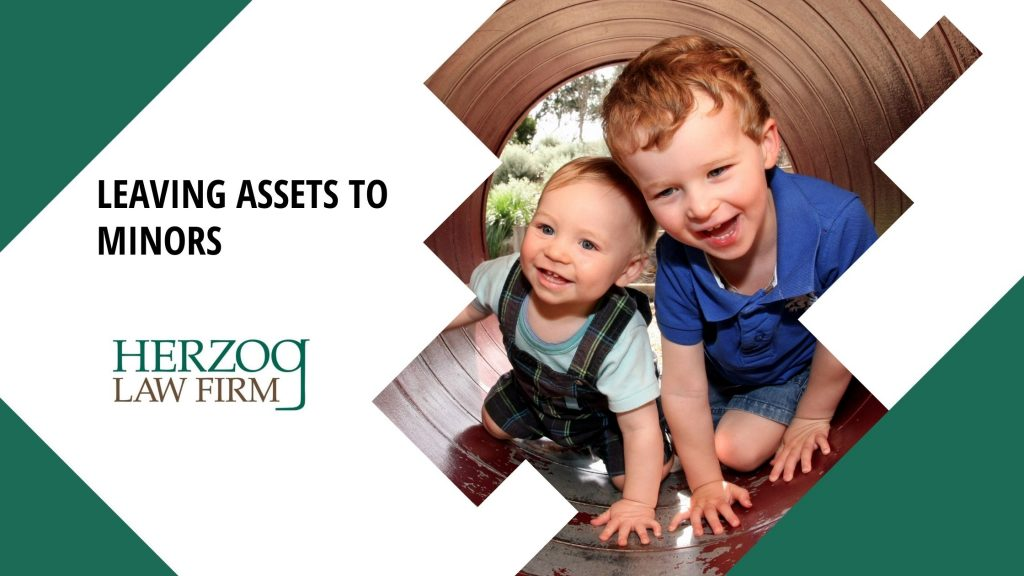 Leaving Assets to Minors - herzog law firm estate planning