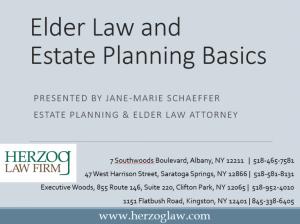 Elder-Law-andEstate-Planning-Basics