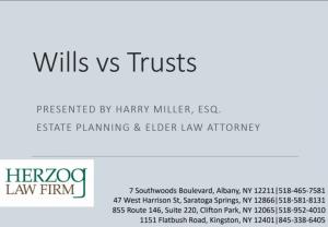 Wills vs Trusts