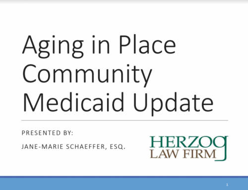 Aging in Place by Jane-Marie Schaffer