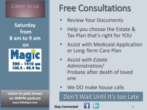 free legal estate planning consultations