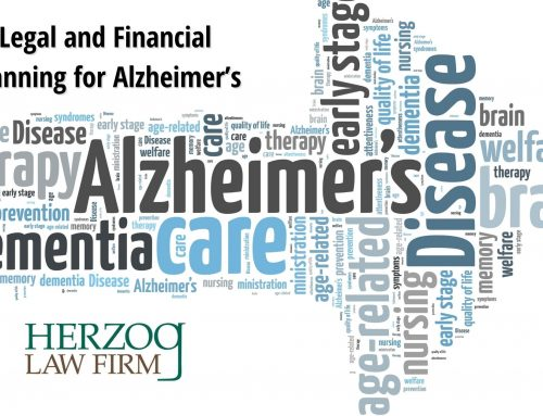 Legal and Financial Planning for Alzheimer's