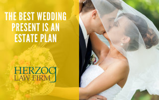the best wedding present is an estate plan