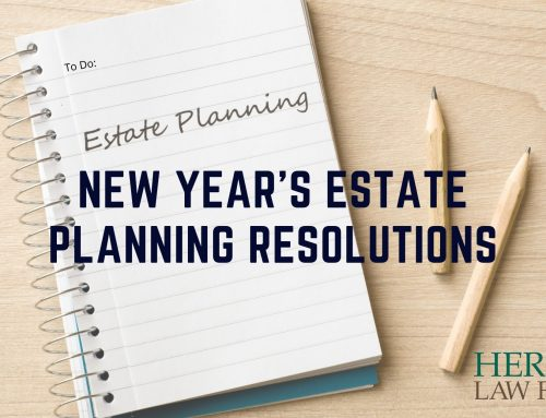 New Year's Estate Planning Resolutions
