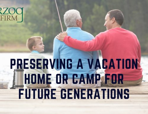 Transferring a Vacation Home or Camp to the Next Generation