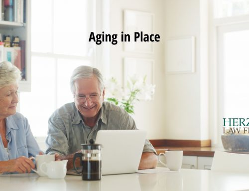 Aging in Place by Jane-Marie Schaeffer