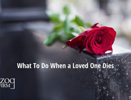 What To Do When a Loved One Dies by Jane-Marie Schaeffer