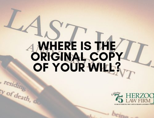 Where is the Original Copy of your Will?